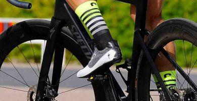 Calcetines ciclismo amarillos
